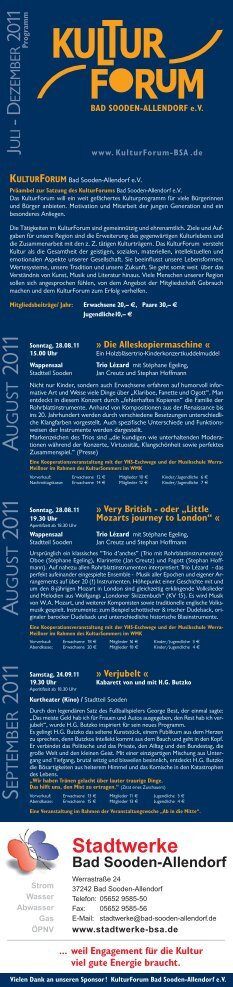 Layout 2 - beim KulturForum