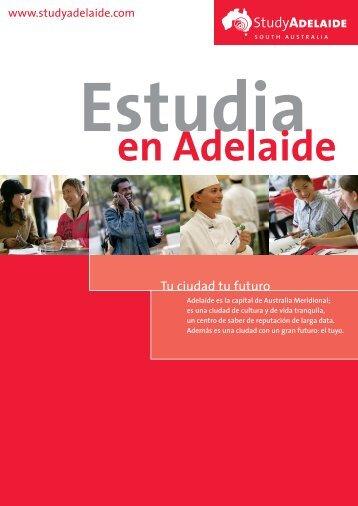 Tu ciudad tu futuro - Study Adelaide