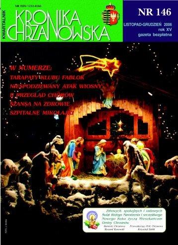 Nr 146 Listopad-Grudzień 2006 - Chrzanów
