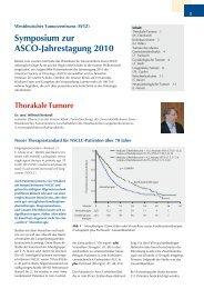 Download des Kongressberichts - Westdeutsches Tumorzentrum ...