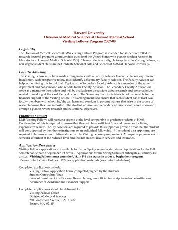 Harvard Medical School - Harvard University