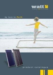 by love to Earth product catalogue - Watt