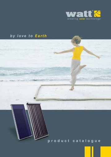 by love to Earth product catalogue - Watt