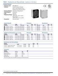 110-404 110 mm 66 mm Pack of 2 IP66 110-404 110 mm Industrial NEMA 4X Polystyrene Plastic Enclosure IP66