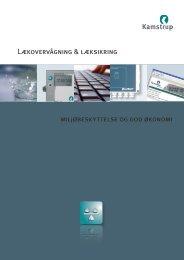 Lækovervågning & læksikring miljøbeskyttelse og god ... - DanTaet a/s