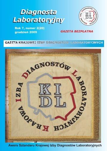 gazeta 20 - Krajowa Izba Diagnostów Laboratoryjnych