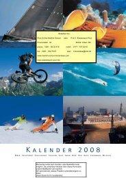 Kalender 2008 - My Seaside