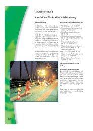 6-2 Vorschriften für Arbeitsschutzbekleidung Schutzbekleidung