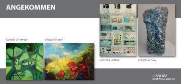 ANGEKOMMEN - Kunst-Wasser-Werk eV