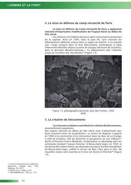 Etude archéologique et historique de l'Arc boisé - Conseil général ...