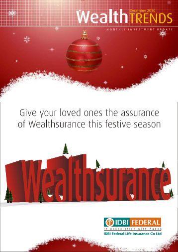 Wealth Trends - December 2010 PDF - IDBI Federal Life Insurance