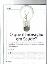 o que é Inovação em Saúde? - Lean Institute Brasil