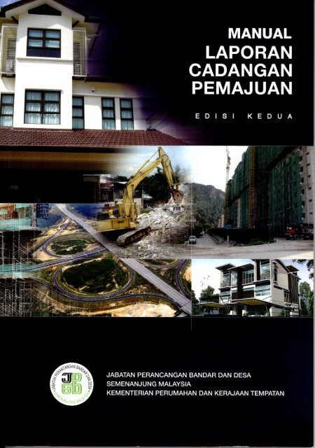 Manual Laporan Cadangan Pemajuan (LCP)-Edisi Ke-2