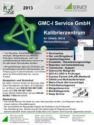 Flyer Kalibrierzentrum - GMC-I Service GmbH