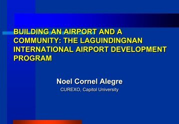 Alegre_BUILDING AN AIRPORT AND A COMMUNITY.pdf - Forum for Urban ...