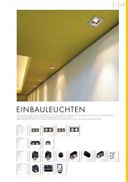 EINBAULEUCHTEN - Kube GmbH Lichttechnik