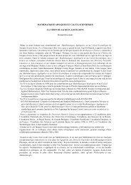 MATHEMATIQUES APPLIQUEES ET CALCUL SCIENTIFIQUE: LA ...