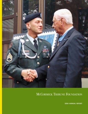 Full Report - McCormick Foundation