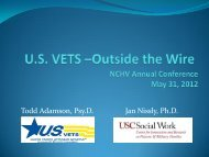 Outside the Wire - Center for Innovation and Research on Veterans ...