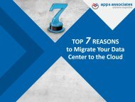 Top Seven Reasons For Migrating Your Data Center to the Cloud E-Book