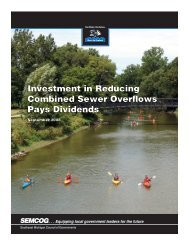 Investment in Reducing Combined Sewer Overflows Pays ... - semcog