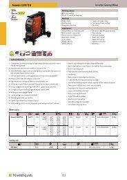102 TIG welding units - Svejsehuset A/S