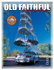Old Faithful Porsche - Yellowstone Region - Porsche Club of America