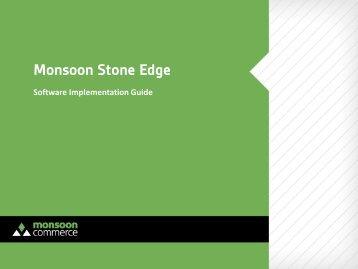 Monsoon Stone Edge Implementation Guide - Monsoon Commerce