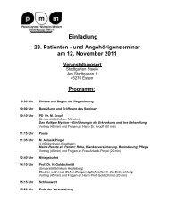 Programm - Plasmozytom / Multiples Myelom Selbsthilfegruppe ...