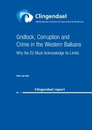 Gridlock Corruption and Crime in the Western Balkans