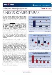 Komercinio NT rinkos komentaras 2009 m. IV ketv. - Ober-Haus