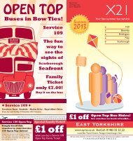 View Timetable PDF - East Yorkshire Motor Services Ltd