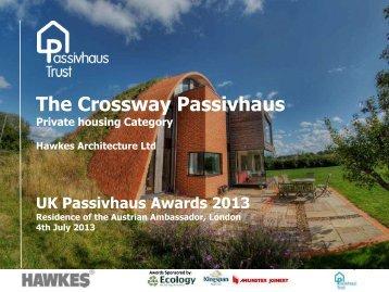 UK Passivhaus Awards 2013 - Passivhaus Trust