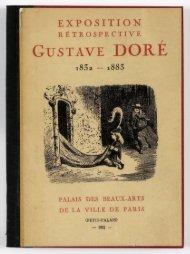 GUSTAVE DORÉ - Le Petit Palais - Ville de Paris