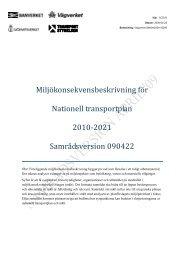 Miljökonsekvensbeskrivning för Nationell ... - Banportalen