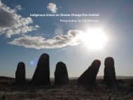 Indigenous Voices on Climate Change Film ... - Climate Histories
