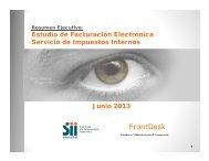 Estudio sobre Conocimiento y Percepción de la Factura Electrónica