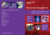 National Heart and Lung Institute - Imperial College London