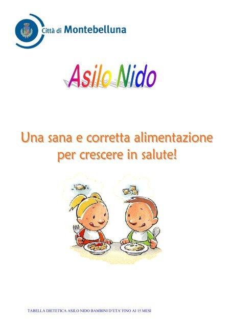 dieta per 6 mesi per bambini pdf