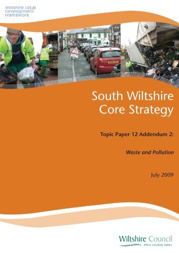 South Wiltshire Core Strategy Topic Paper 12 ... - Wiltshire Council