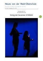 Newsletter Nr. 90, 9. Jahrgang, Juni 2013 - Wald-Oberschule