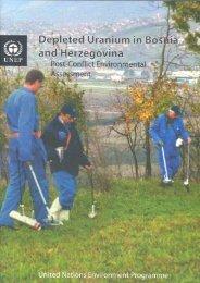 Depleted Uranium in Bosnia and Herzegovina - UNEP