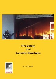 Fire Safety and Concrete Structures - Febelcem