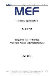 MEF 32