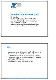 Prof. Dr. Martin Richartz - Telematik TH Wildau