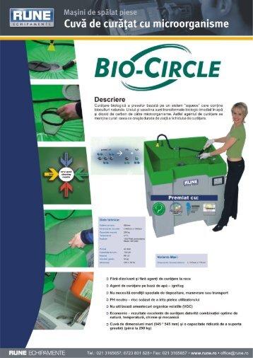 . Cuvă de curăţat cu microorganisme - RUNE Piese Auto