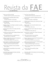 REVISTA DA FAE - Vol. 12 / n.º 2