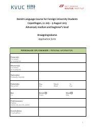 Ansøgningsskema (PDF) - Det Danske Kulturinstitut