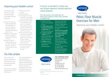 Pelvic Floor Exercises Information Leaflet Review Home Co