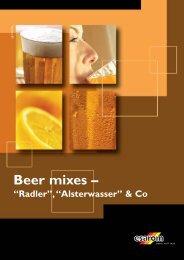 Beer mixes –